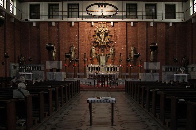 Plečnik - kostel Nejsvětějšího Srdce Páně