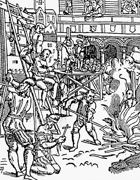 Útrpné právo II. - druhy mučení