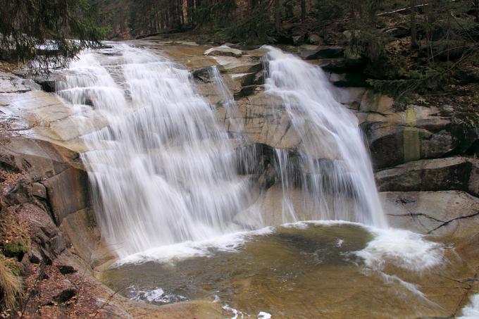 Mumlavský vodopád - Krkonoše