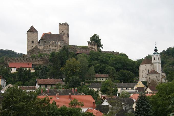 Hrad Hardegg - Rakousko