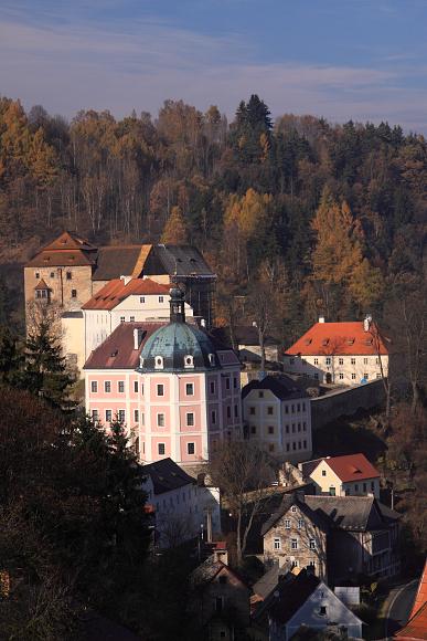 Zámek a hrad - Bečov nad Teplou