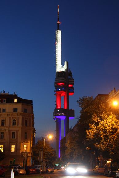 Žižkovská vysílací věž - Praha