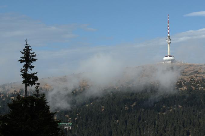 Praděd - nejvyšší hora Hrubého Jeseníku