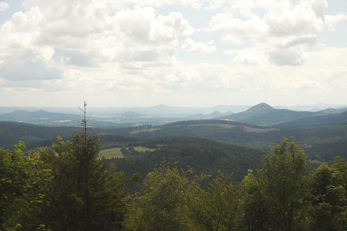 Luž - nejvyšší hora Lužických hor