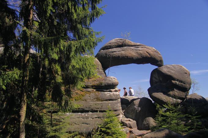 Broumovské stěny - Kamenná brána