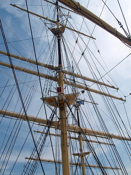 Školní plachetnice - Gdyně