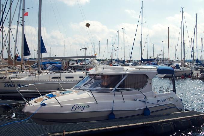 Plavba kolem Gdaňska - motorová jachta