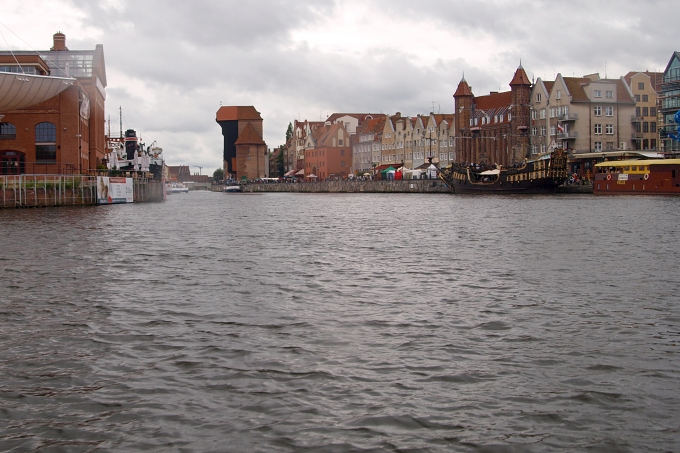 Plavba kolem Gdaňska - Stará Motlawa