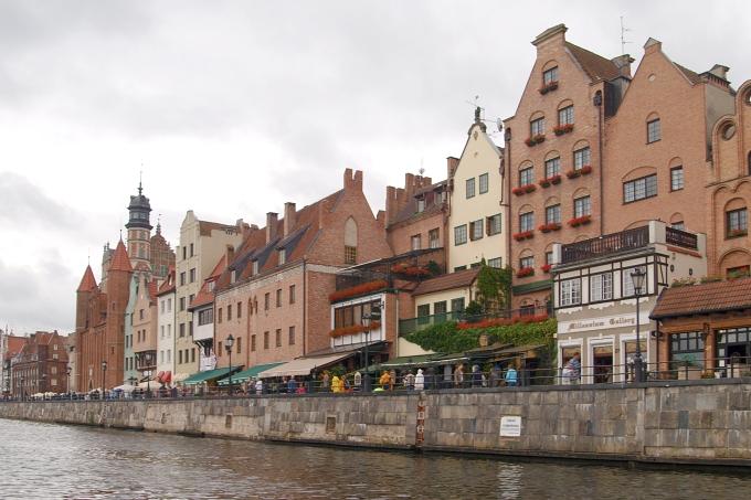 Plavba kolem Gdaňska - hansovní domy