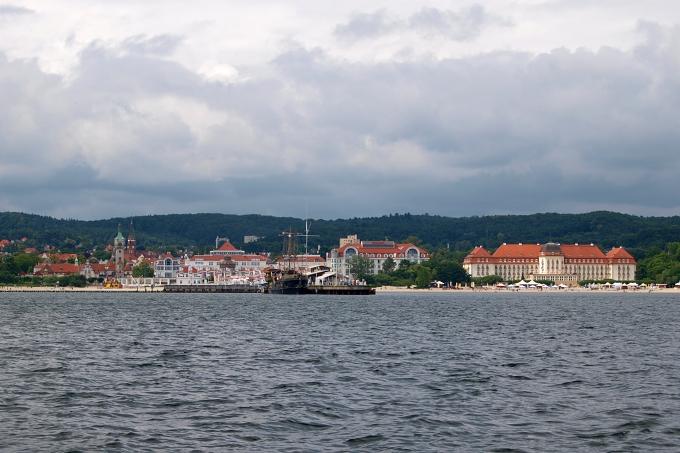 Plavba kolem Gdaňska - Sopoty