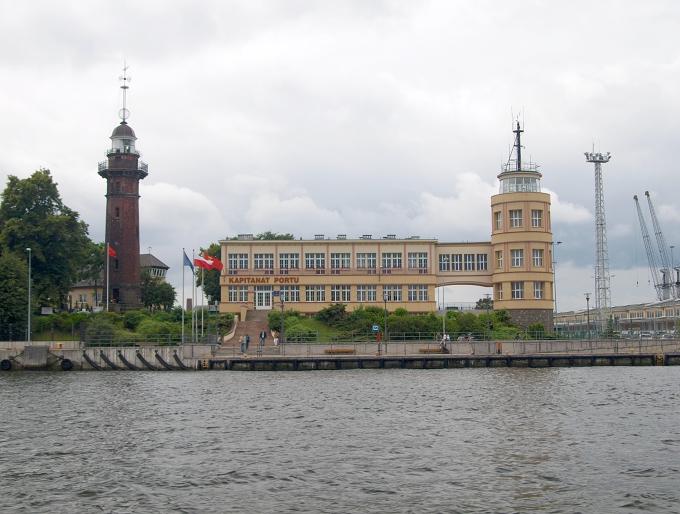 Plavba kolem Gdaňska - řídící středisko