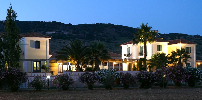Lesbos (Lesvos), Petra - pension Cavo Christo