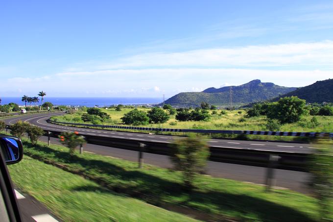 Mauritius - cesta do Port Luis