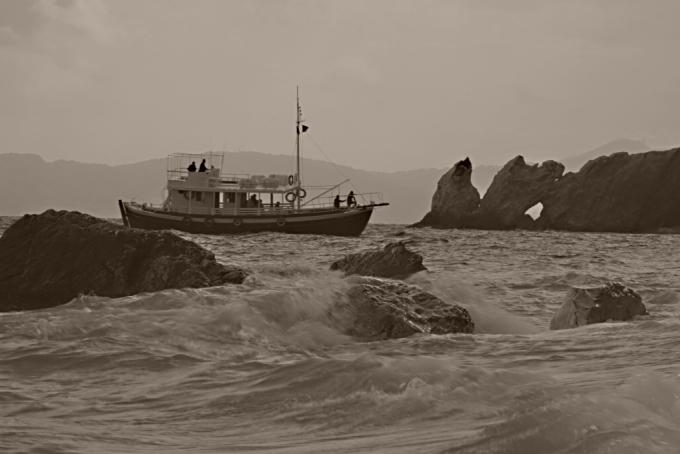 Skiathos - pláž Lalaria