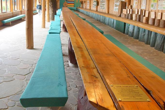 Szymbark - nejdelší deska na světě