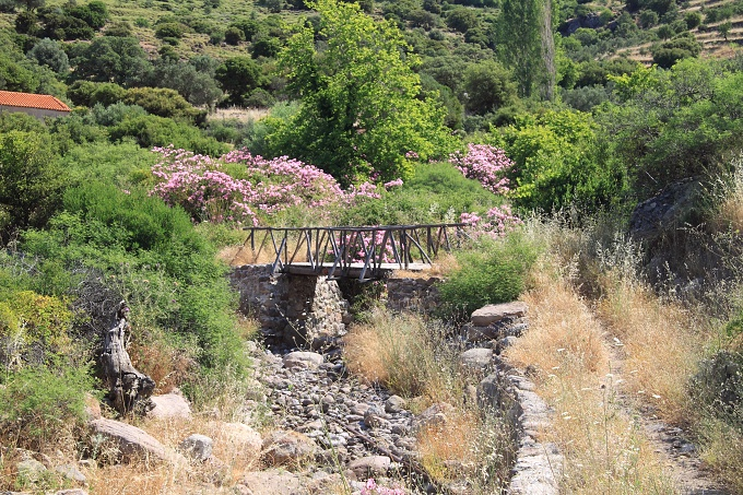 Lesbos - cesta nad Petrou