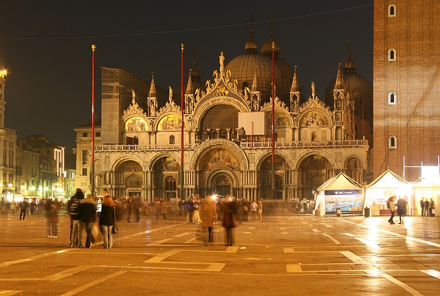 Benátky - bazilika sv. Marka