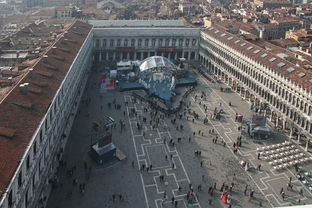 Benátský karneval 2008 - Piazza San Marco