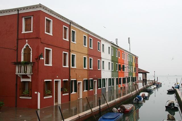 Benátská laguna - ostrov Burano