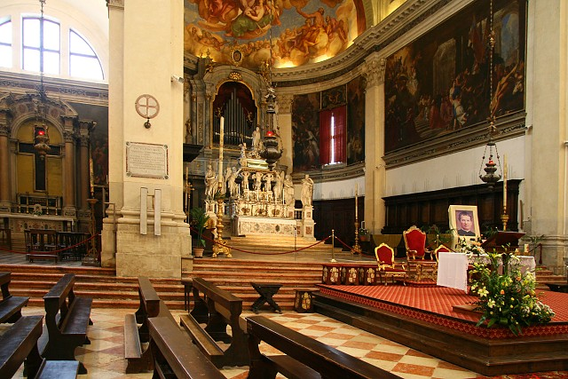 Benátky - kostel San Pietro di Castello